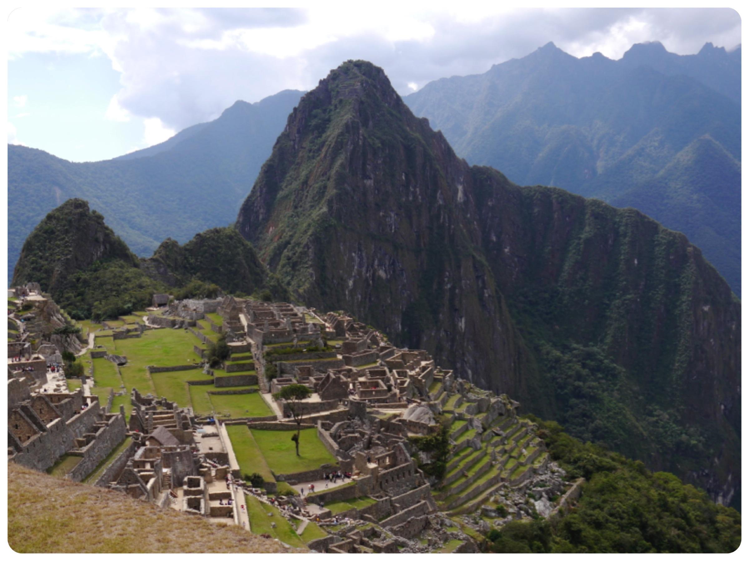 Le majesteux, le mythique, le magique Machu Picchu
