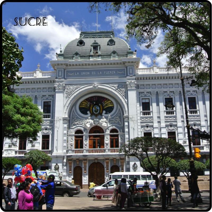 Sucre, la ville blanche